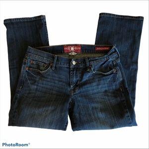 Lucky Brand Sweet 'N Crop Jeans Sz 6 / 28
